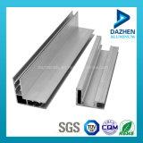 Perfil de aluminio del borde de la cabina de cocina del fabricante del perfil con el cepillo brillante