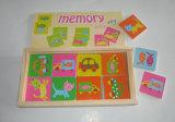 Brinquedos de brinquedos de memória de madeira 32PCS para crianças