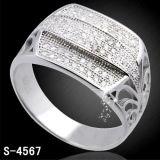 Anello d'argento dei monili 925 per il commercio all'ingrosso della fabbrica dell'uomo