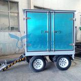 Pianta mobile ad alta tensione di filtrazione dell'olio del trasformatore con l'iso del Ce