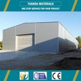 بناء تصميم فولاذ مستودع بنايات معدن بنية