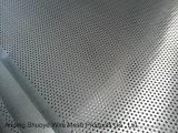 Plaque en aluminium perforée