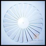 空気調節の固定刃の装飾的な渦巻の天井の拡散器
