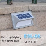 Precio más bajo LED de la lámpara solar de Seguridad Paso solar sin cables luz de la escalera de luz solar LED con calidad superior