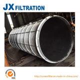 De Cilinder van de Filter van het Scherm van de Draad van de Wig van het roestvrij staal