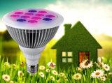 12W 24W E27 PAR38 Bombilla de luz de la planta de macetas con plantas