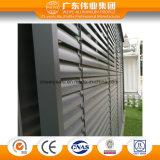 Puder-beschichtendes örtlich festgelegter Ventilations-Blendenverschluss-Aluminiumfenster