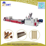 Le WPC en plastique PVC Wood-Composite large porte Conseil Making Machine Extrudeuse