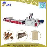 De plastic Raad die van de Deur van pvc van de houten-Samenstelling WPC Brede de Extruder van de Machine maken