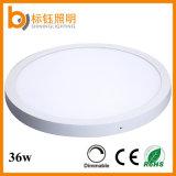 свет панели гарантированности 90lm/W СИД потолочной лампы 3years RoHS Ce 500mm Approved круглый