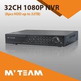 H. 264 32CH soporte independiente DVR 4PCS HDD (62B32H80P)