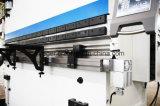 Máquina de dobra hidráulica da placa Wc67y-80X2500 de aço