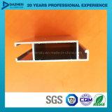 Porte en aluminium en aluminium de guichet de profil de la Libye de vente directe d'usine avec le bronze anodisé