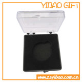 Il contenitore su ordinazione di medaglia della scatola di plastica di alta qualità, il contenitore di monili, la casella dei gemelli, casella del distintivo ha messo il regalo (YB-HR-46)