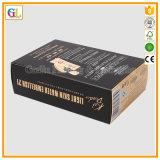 Косметическая бумажная упаковывая коробка в изготовленный на заказ печатание