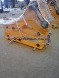 Tipo lateral excavador hidráulico Zys750 del martillo 6-9ton de los cortacircuítos