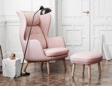 Chaise de chaise de salon RO dans des jambes en bois