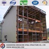 Edificio multi prefabricado de la industria de la estructura de acero de los suelos