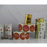 중국 고품질 접착성 라벨 스티커