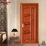 Diseño para paneles de puertas de madera maciza Puerta Interior De Madera (GSP2-001)