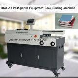 D60-A4 Poste-presionan la máquina obligatoria de libro del equipo