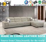 Le sofa commercial moderne de cuir de salle de séjour a placé (HC2082)