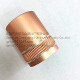 24mm / 410 Calidad y botellas de perfume hermosas Casquillos de aluminio con moletear