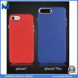 Di caso di cuoio duro di 2017 coperchio posteriore di vendita caldo PC&PU per il iPhone iPhone6 7 7plus