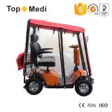 Autoped van de Mobiliteit van de Zetel van Ce ISO Cetificate de Vierwielige Dubbele Elektro