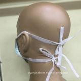 Het beschikbare Niet-geweven 3-vouw Chirurgische Medische Masker van het Gezicht met Band