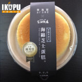 Cassetto a gettare del bambù del cassetto della torta del cassetto dell'alimento della bagassa della canna da zucchero