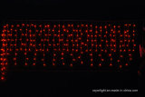 LED resistente al agua carámbano iluminación decorativa decoración con estrellas