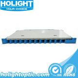 Ensemble d'épissure en fibre optique à 12 ports pour équipement à fibre optique