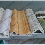 Linha de pedra máquina da decoração do PVC da extrusão com preço
