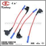 5mini fusible titular de la derivación Auto mazo de cables resistentes al agua