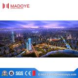 Modèle de mur rideau de Foshan pour la construction somptueuse