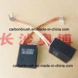 Escova de carbono H671 da grafita de Helwig eletro para o uso do motor