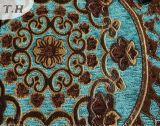 La tela brillante del sofá de la serie del telar jacquar del Chenille y tela de los muebles