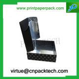 ロゴプリント宝石箱が付いているカスタム贅沢なボール紙のペーパーギフトの包装ボックス