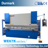 Dobladora del metal de hoja, freno hidráulico de la prensa del CNC de We67k