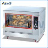 Rotisserie commercial commercial électrique de l'acier inoxydable Eb206/four de poulet/machine rotatoires de torréfaction de poulet