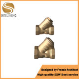 Y Type Sanitary Brass Filter for Water Pipe