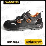 Pattini di sicurezza di cuoio del sandalo con la mascherina d'acciaio (SN5561)