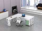 Ht66-2の白いカスタマイズされた金属の鋼鉄オフィスの管理の机フレーム