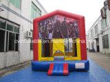Bouncer di salto gonfiabile del castello