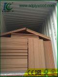 A melamina diante do Tamanho de MDF 1220x2440X3-18mm para mobiliário