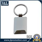 주물 아연 합금 공백 Keychain를 정지하십시오 (고객 로고를 추가할 수 있다)