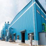 El precio industrial curvó la estructura de acero de la azotea vertida con el panel de emparedado