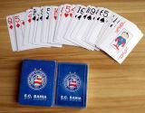 100% packten neue Belüftung-Plastikspielkarten im Plastikfall