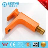Mélangeur de cuvette en laiton orange populaire (BM-B10030F)